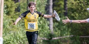 Olle Kalered från Stora Tuna OK tog en överlägsen seger på herrsidan.