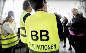 I tre års har BB-ockupationen pågått vid Sollefteå sjukhus.