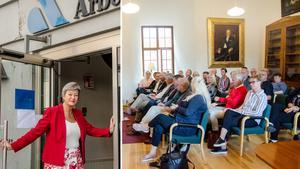 Arbetsmarknadsminister Ylva Johansson besökte på tisdagen Örebro för att träffa representanter för kommuner och regionen.