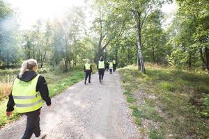 Under den månad som Martin Strömberg varit försvunnen har Missing people ordnat tre sök där allmänheten tagits till hjälp. Utöver familj, vänner och bekanta sökt i stort sett varje dag.