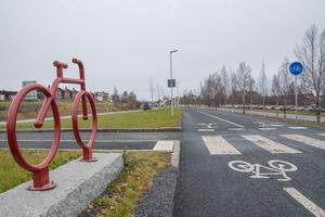 Alliansen kunde inte stoppa expresscykelvägen mot Lugnvik, men planen är att stoppa och utvärdera eventuella kommande byggen.