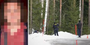 Den 45-åriga mannen är misstänkt för att mördat sin fru och dumpat hennes kropp i ett skogsområde vid en rastplats norr om Gävle. Foto: Arkivbild/Niklas Sundin