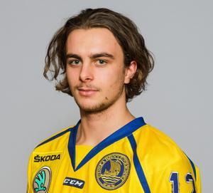 Jacob Olofsson i landslagsdressen. Bild: Simon Hastegård/Bildbyrån.