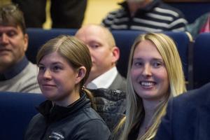 Sara Waern och Elina Eriksson, handlägger frågor om bland annat skarv på länsstyrelsen.