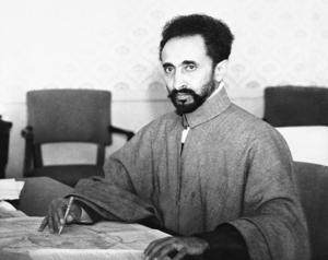 Den etiopiske kejsaren Selassie 1940. Foto: AP