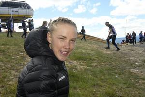 Tove Alexandersson har tävlat färdigt inför VM, nu är det träning som gäller.