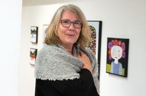 Konstnären Carina Bodström.