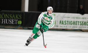 Simon Jansson var ende VSK-spelare i Svenne Olssons slutgiltiga VM-trupp.