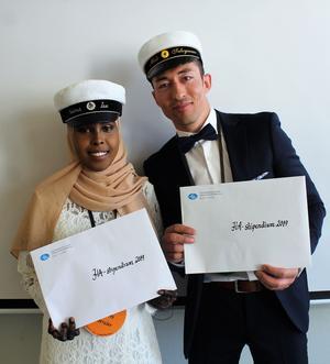 Naima Ise och Mali Suleymani. Foto: Läsarbild