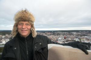 Nicklas Nyberg har köpt Restaurang Varvsberget och vill satsa stort på Örnsköldsviks utsiktsplats.