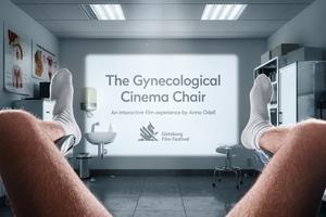 """""""Undersökningen"""" visas på en specialbyggd gynekologmottagning på Göteborg Film Festival mellan 25/1-2/2. Foto: Pressbild"""