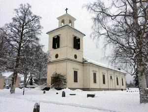 Skorpeds kyrka. Bild: Johannes Söderberg/SVT