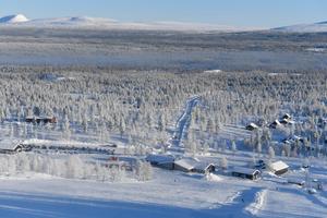 Fjätervålen är en av landets bästa alpina anläggningar vad gäller skidåkning.