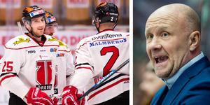 Peter Andersson dementerar att han skulle vara klar för Örebro Hockey. Bilder: Bildbyrån