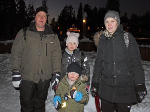 Saga Lanäs, 8 år, från Torsby, önskar sig hästar i julklapp.