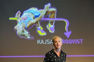 Kajsa Bergqvist har än i dag det gällande världsrekordet inomhus på damsidan, på 2.08, som hon satte 2006.  Hon berättade om sin karriär och  om vikten av att ha vinnarskalle.