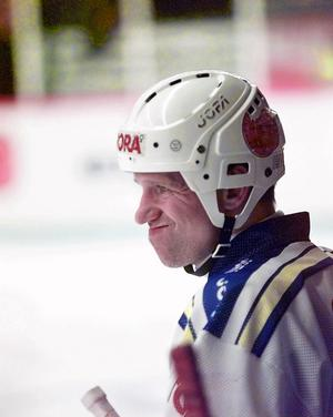 Det segerlösa 90-talet svider än i dag för Tomas Jonsson. I synnerhet SM-slutspelen 1994 och 1997 när seriesegrande Leksand hade guldförutsättningar – men fick respass i kvarts- respektive semifinal. Foto: Esbjörn Johansson