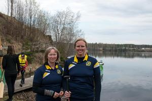 Lena Steen och Annelie Hamrin är två av kanotisterna med landslagsuppdrag i drakbåtsklubben, liksom Camilla Engberg och Liselott Moe. I höst väntar EM i Tyskland.