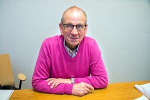 Ulf Holmberg, vice ordförande för ProLiv i Dalarna, uppmanar män över 45 år att testa sig för att se om de har prostatacaner.