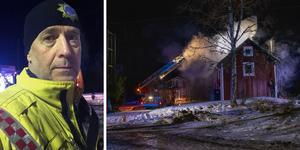 Magnus Andersson, yttre befäl på räddningstjänsten.