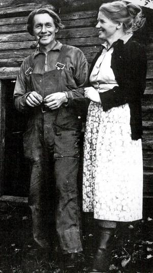 1953 flyttade Gerd och Niklas med sin familj till Sångshyttan, Hällefors. Ett antal år senare, i slutet av 50-talet, togs den här bilden. Foto: Privat