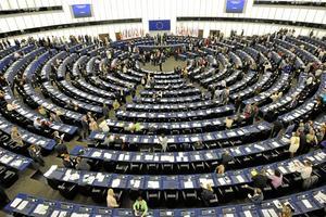 Plenisalen i EU-parlamentet i Strasbourg.