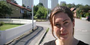 Heidi-Maria Wallinder (V) är en av fyra vänsterpartister som undertecknat motionen.