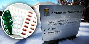 En man åtalas vid Falu tingsrätt misstänkt för ringa narkotikabrott. Foto: Gorm Kallestad, Tomas Nyberg