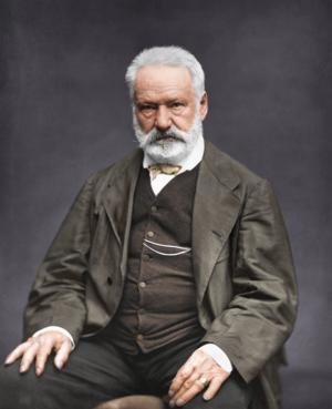 Victor Hugo 1876. Foto: Étienne Carjat