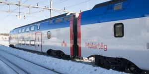 På tisdagen kommer mälartåget att flyttas från Hudiksvall, enligt Mårten Levin, vd på Mälardalstrafik.