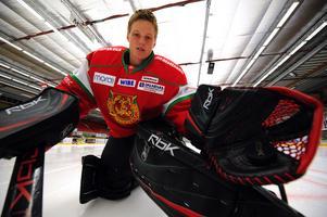Lars Johansson, nu hemmahörande i KHL.