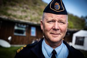 Rune Lindbom är chef för lokalpolisområde Mora.