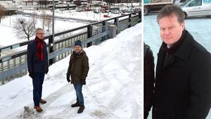 Bo Tjälldén och Peter Koserius Norberg ville bygga på parkeringshusets tak.