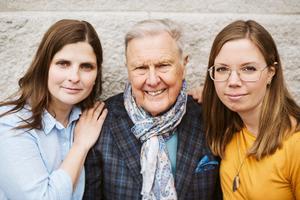 Foto: Maria Lindeskär, Pressbild LibrisSusanne Tell, Jan Beskow och Filippa Gagnér Jenneteg är författarna till boken