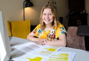 Just nu är Tess fullt upptagen med att plugga in manus och sångtexter inför nationaldagsfirandet.