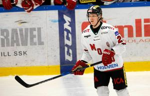 Jakob Stenqvist är fostrad i Mora men tillhörde Modo när han draftades. Foto: Arkiv.