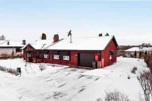 Det åttonde mest klickade dalaobjektet på Hemnet under förra veckan var denna villa i Färjegårdarna, Borlänge kommun.Foto: Kristofer Skog/Husfoto