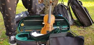 Fiolen är ett viktigt instrument inom folkmusiken.
