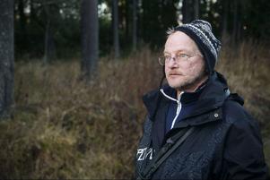 Göran Åhlin och Cesar, Odensala, tog en morgonrunda vid Lillsjön.