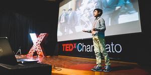 José Adolfo, 2018 års vinnare av Children's climate prize. Foto: Pressbild