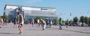 Kajutan BC deltog i boule-SM i Linköping. Foto: Robert Petersohn
