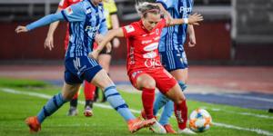Heather Williams gjorde åtta av Kif Örebros 28 mål i allsvenskan 2019, och tog med det en överlägsen seger i den interna skytteligan. Men till 2020 ser hon ut att bli mittfältare.