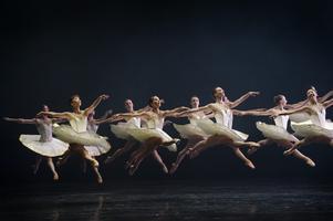 Dansare vid Kungliga Operan, en av Sveriges nationalscener förlagd i huvudstaden. Foto: Fredrik Sandberg / SCANPIX