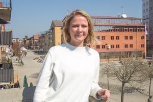 Julia Nordström, miljö- och klimatstrateg, Nynäshamns kommun.