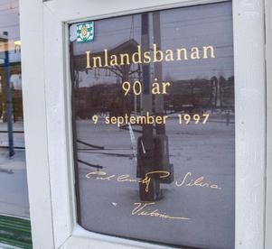 Jubileum var det när banan fyllde 90 år 1997 då både kungen, drottningen och prinsessan Victoria var på plats i Östersund.