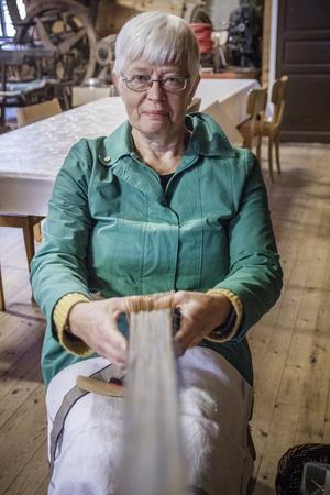 Ulla Kihlström brickväver linband.
