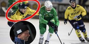 Filip Skoglund spelar inte mer den här säsongen tror Tellus tränare Roland Nyström. Foto: Christine Olsson / TT