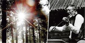 Erland Öman i Ramsås, Älandsbro har avlidit, 96 år gammal.  Foto: TT och Privat
