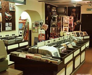 Interiör från LP-skivan 1981 på Nygatan 15. Bildkälla: Örebro stadsarkiv