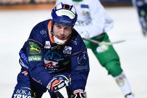 Per Hellmyrs, rubrikernas man 2014 då han och Daniel Berlin gick från Dynamo Moskva till Bollnäs.